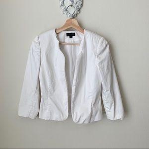 Tahari White blazer
